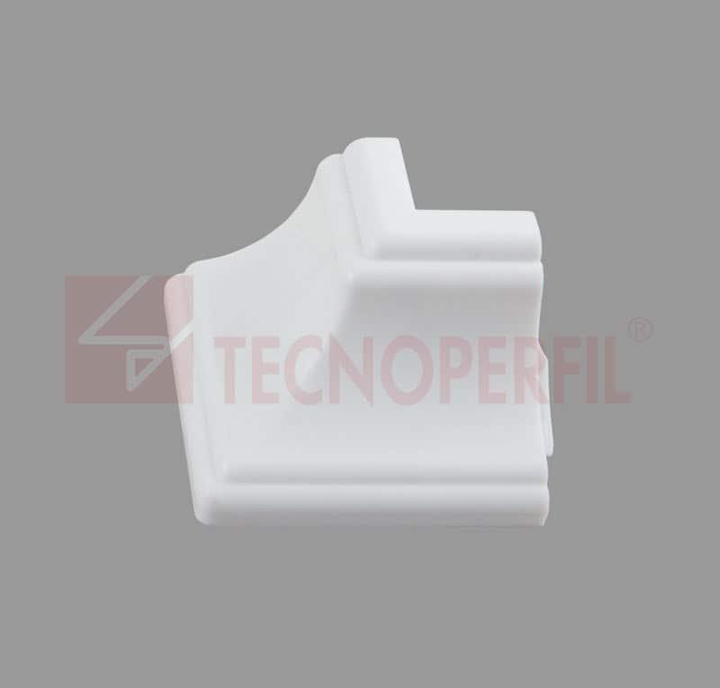 CANTO EXTERNO 90° EM PVC - TEC 237A