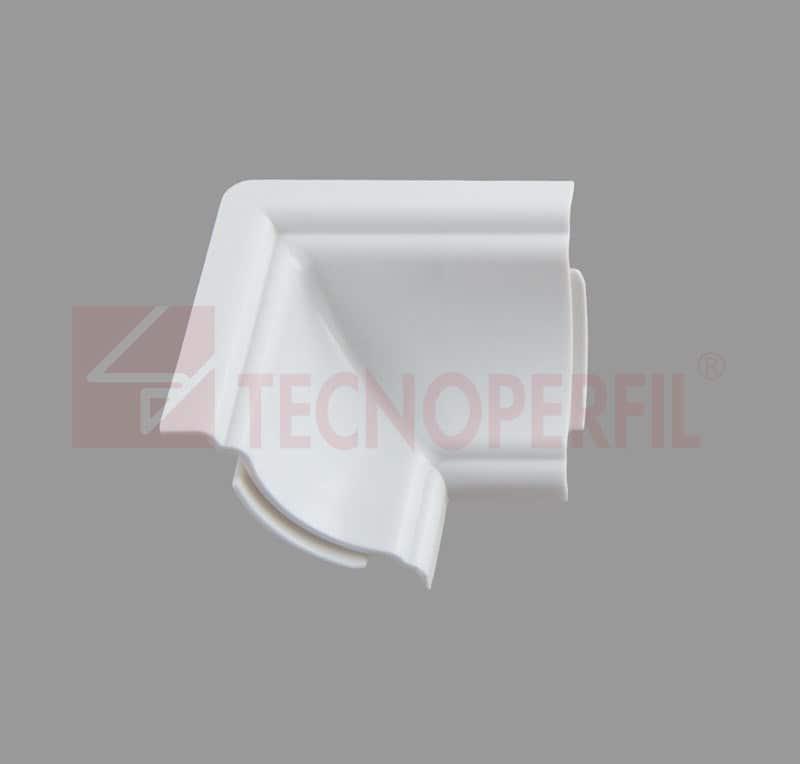 CANTO INTERNO 90° EM PVC - TEC 237B