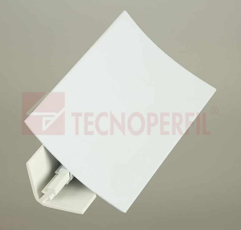 CONJUNTO INTERNO DE SOBREPOR EM PVC 48X48MM - TEC 259 TEC 260
