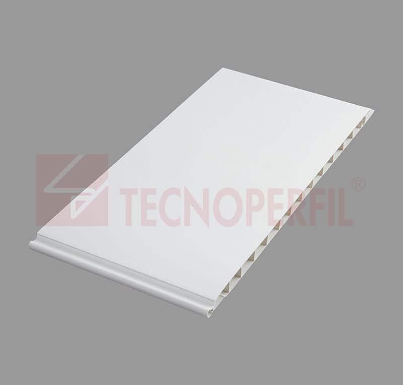FORRO EM PVC LUMINUS LISO JUNTA SECA – 7MM - TEC 317